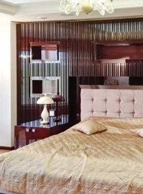 Кровать в шпоне