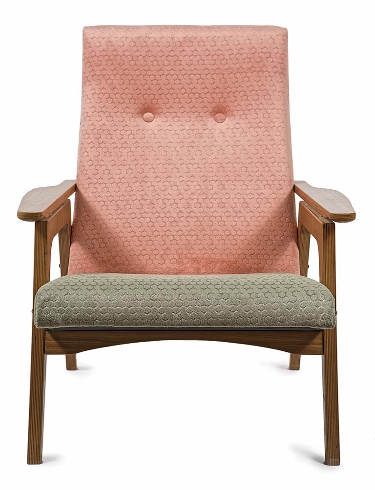 Кресло «Sputnik Callisto Coral-Olive»