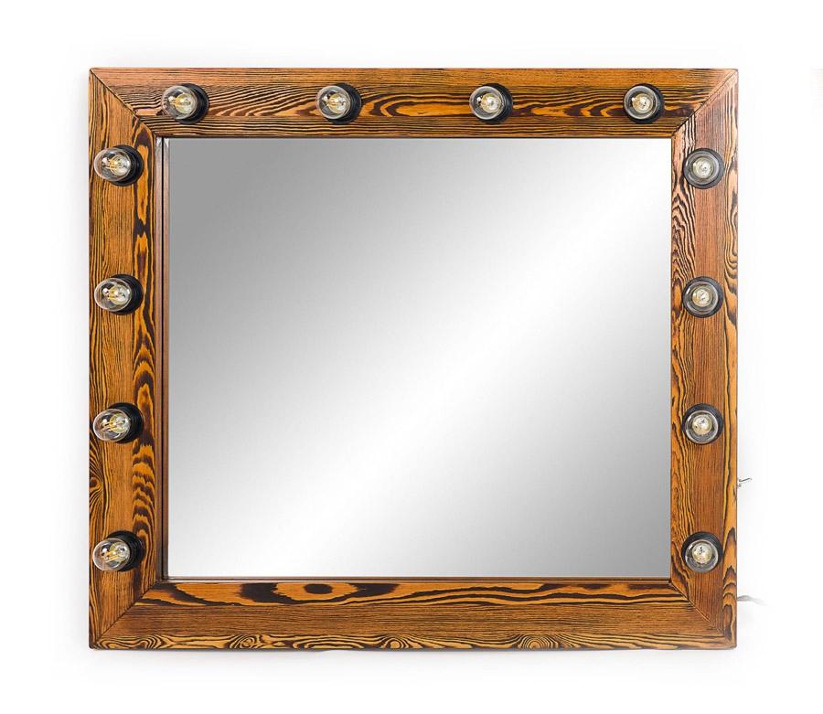 Зеркало гримерное Flame 100х100